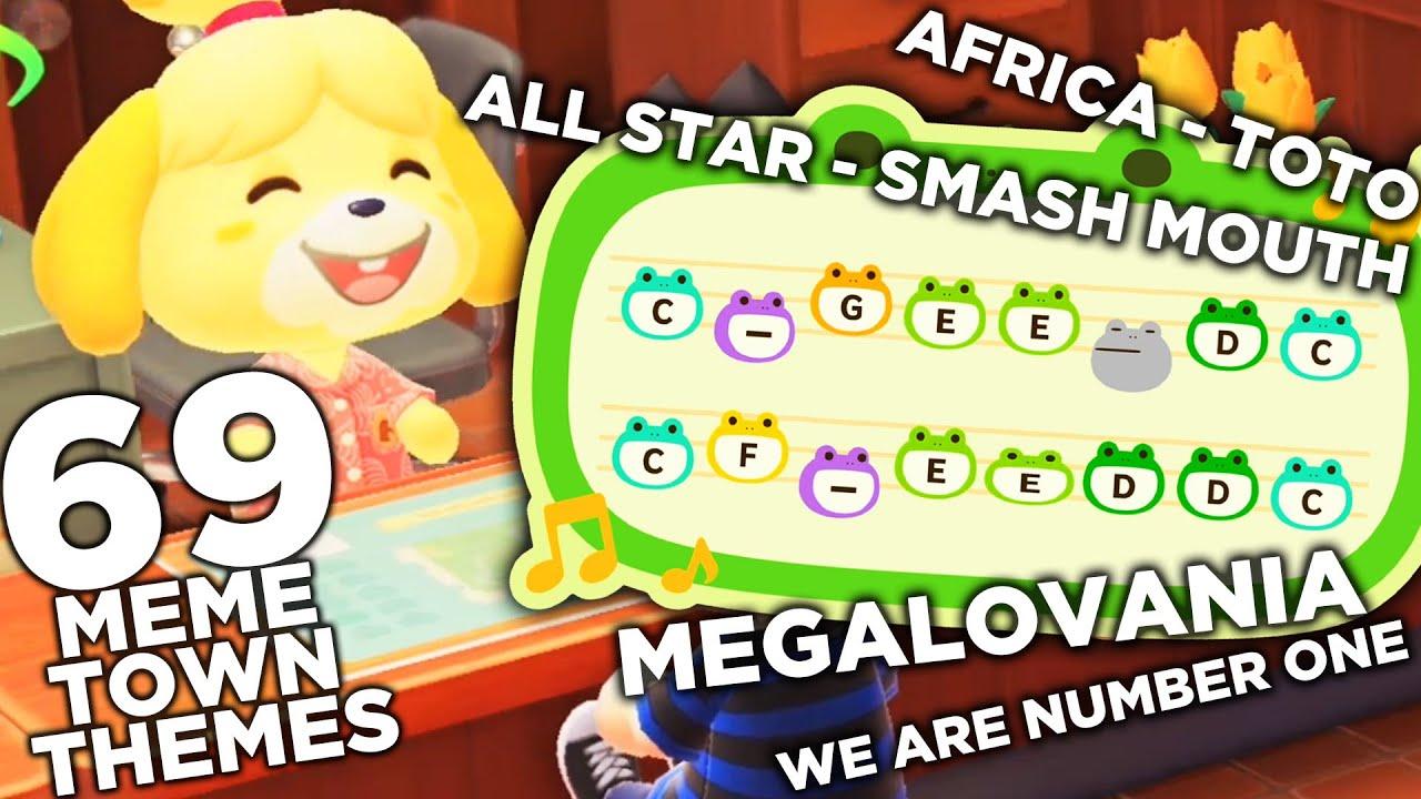 69 Meme Animal Crossing Town Themes Youtube