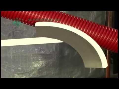 Autonational - Dedicated project engineering - Cutting Equipment Drainage Tube (Corrugated Pipe)