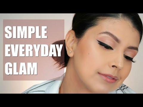 SIMPLE EVERYDAY GLAM | MAKEUP TUTORIAL thumbnail
