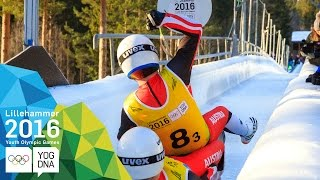 Luge Team Relay - Germany win gold | Lillehammer 2016 Youth Olympic Games