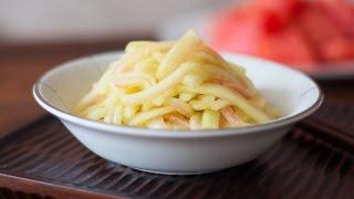 [eng Sub]【第64集】生拌西瓜皮 Watermelon Rind Salad Recipe