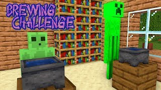 Monster School: BREWING CHALLENGE - Funny Minecraft Animation