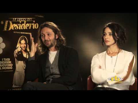 Silvio Muccino e Nicole Grimaudo - intervista per Le Leggi del Desiderio - RB Casting