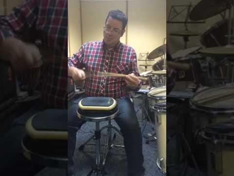 Pipe band drumming Mark McLaughlan