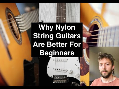 Are Nylon Guitar Strings Easier to Play?