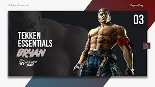 Tekken 7 Essentials - Bryan Fury