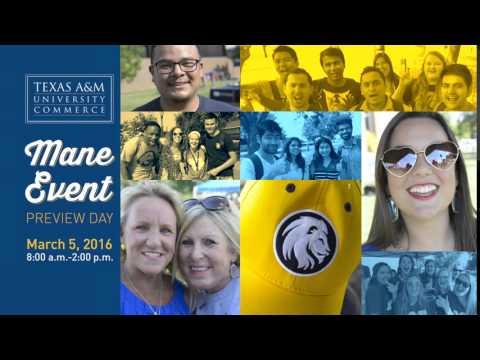 Mane Event, Spring 2016 - Texas A&M University-Commerce