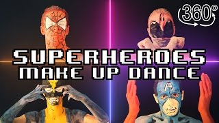 Baixar Superheroes Make Up Dance in 360!