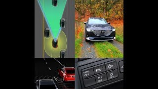 2019 Cx-9 GT i-ACTIVSENSE Safety Technology Overview Mazda MRCC + BSM + LDWS
