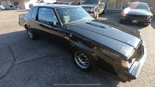 Test Drive 1987 Buick Grand National Turbo $19,900 Maple Motors