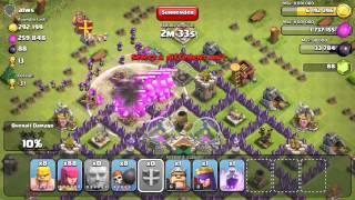 Clash of Clans - 2,329 Dark Elixir Raid, 900 and 800k Raids! 6 Witch Raid w/ Pekkas Etc. Etc.