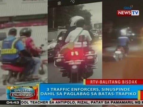 BP: 3 traffic enforcers sa Mandaue City, Cebu, sinuspinde dahil sa paglabag sa batas-trapiko