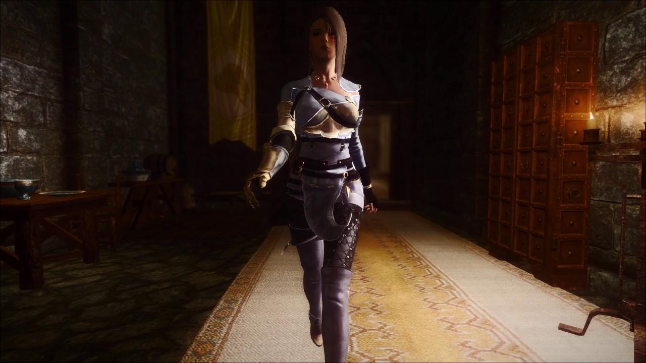 Odezhda Dark Knight Iz Igry Black Desert Dlya Skyrim V 1 4 Chast 4