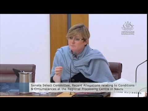Regional Processing Centre in Nauru Inquiry.