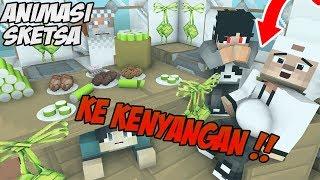 Lucu ! Idul Fitri - Erpan Mabok Lontong ( Animasi Minecraft Indonesia )