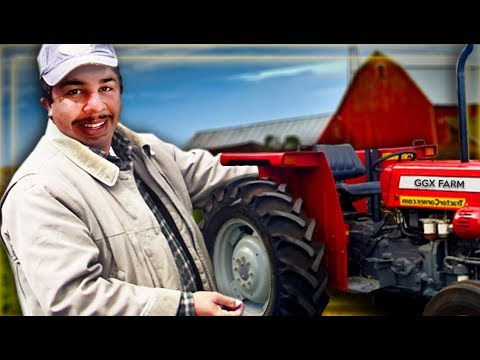 GREEK STARTS HIS OWN FARM BUSINESS