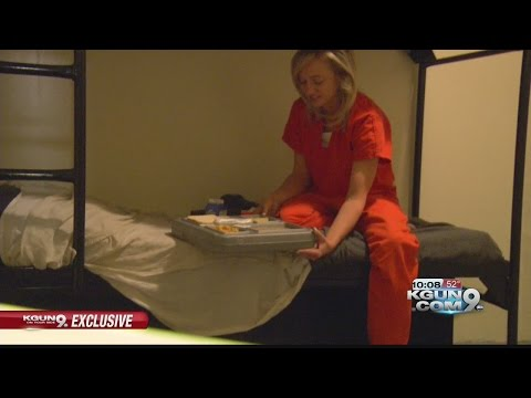 Behind the barbed wire: One night locked up at the Pima County Jail