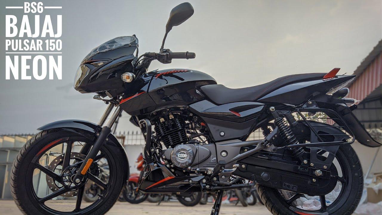 2020 BS6 Bajaj Pulsar 150 Neon Red !! New Changes !! On Road Price ...