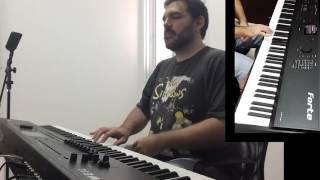 KURZWEIL FORTE - Harmonium - Penguin Cafe Orchestra - Music for a Found Harmonium