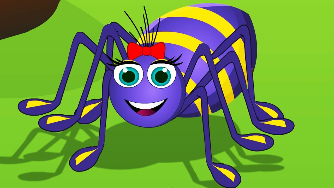 Itsy Bitsy Spider In Arabic العنكبوت النونو اغنية العنكبوت الصغير Youtube