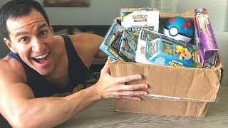 *BIG MYSTERY BOX OF POKEMON CARDS!* Opening RARE BOOSTER PACKS Inside!