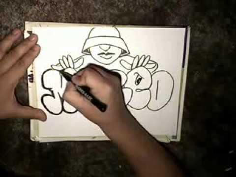Ecco Come Fare Un Graffito Youtube