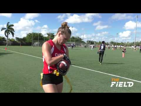 PANAMA VS CANADA MUNDIAL DE FLAG FOOTBALL CAT FEMENINA