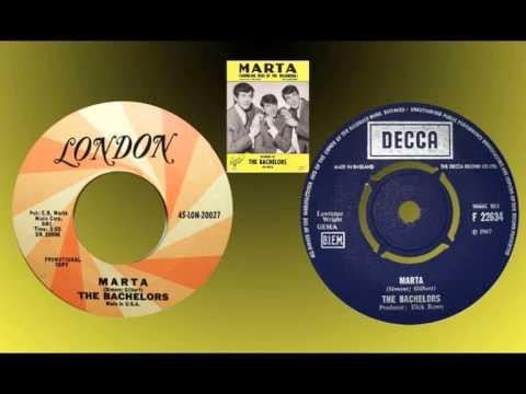BACHELORS - Marta (Rambling Rose of the Wildwood) 1967 Stereo!