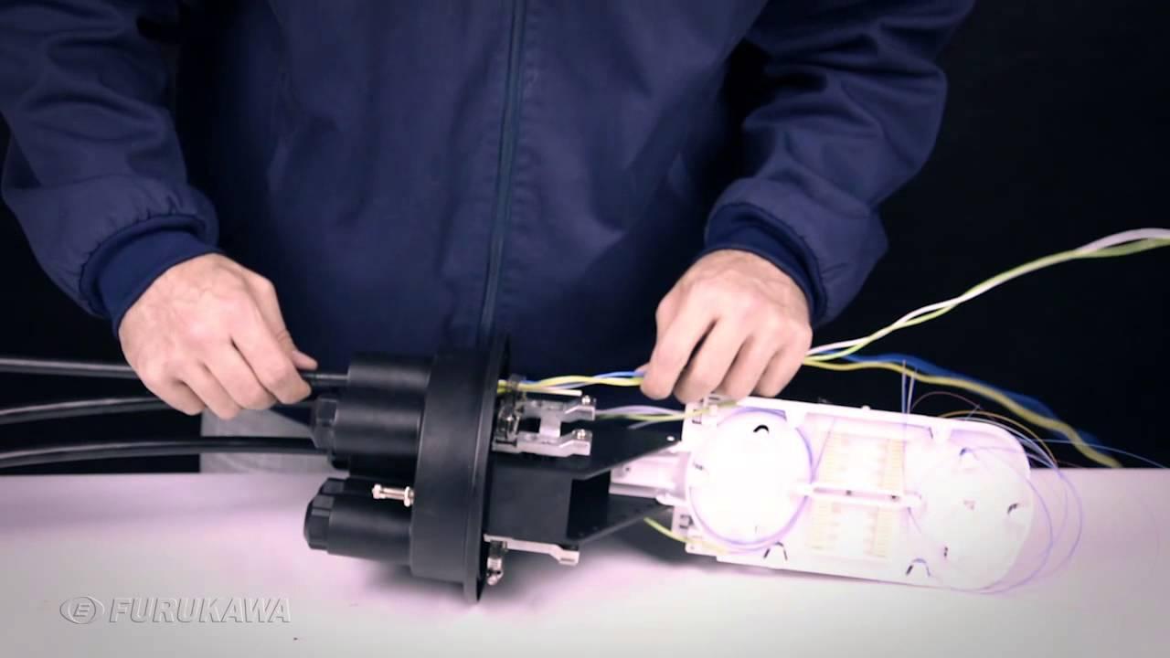 ab6957e829 Conjunto de Emenda Óptica | Preparação e instalação - YouTube