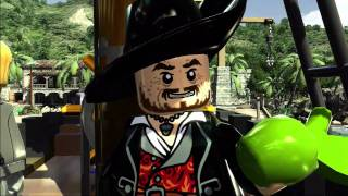 The Curse of the Black Pearl gameplay trailer -- LEGO Pirates of the Caribbean: The Video Game