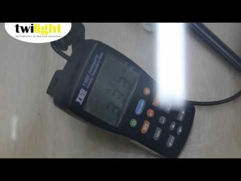 Calibración de un Termohigrómetro Digital TE-1365