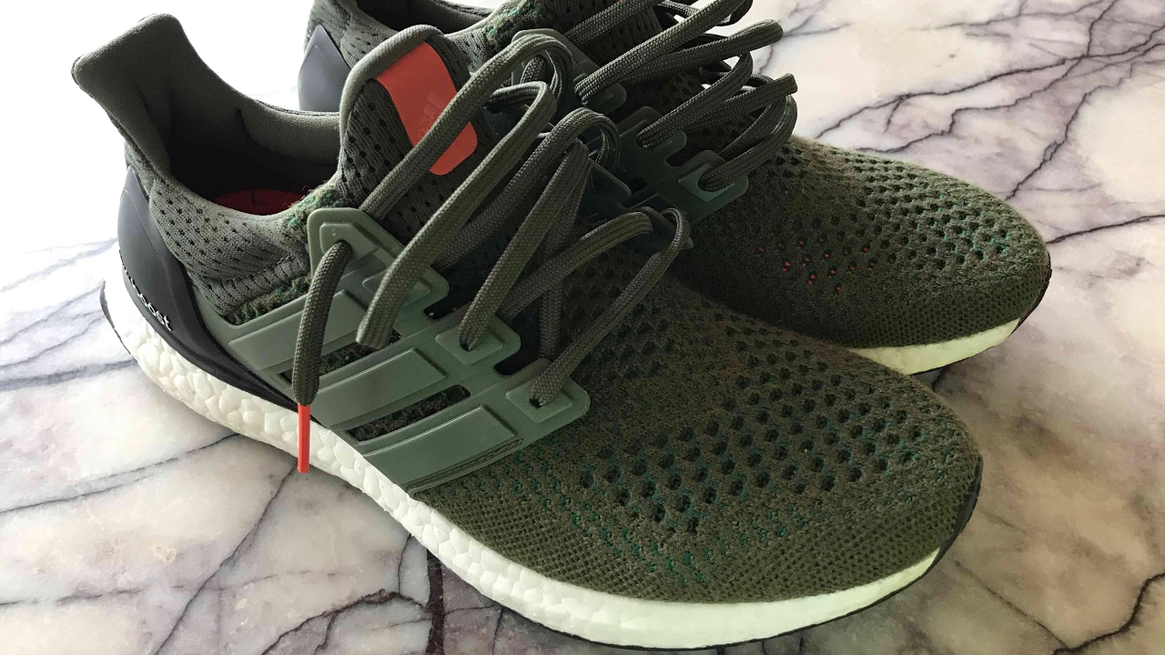 ac8b9a0fe70 Adidas Ultra Boost Olive Green Ltd - Review and on feet - YouTube