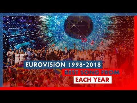 Eurovision Song Contest - 1998-2018 - Best Song From Each Year
