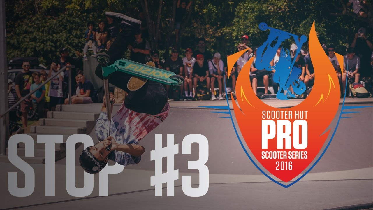 Pro Scooter Series 2016 Stop 3 At Pizzey Park Quick Clip