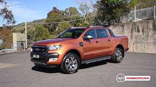 2017 Ford Ranger Wildtrak  0-100km/h & engine sound