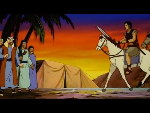 KING DAVID | The entire movie for children in English | TOONS FOR KIDS | EN
