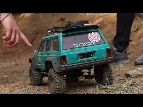 RC ADVENTURES – Scale Crawler Race Highlight – Dirty Crawling Race
