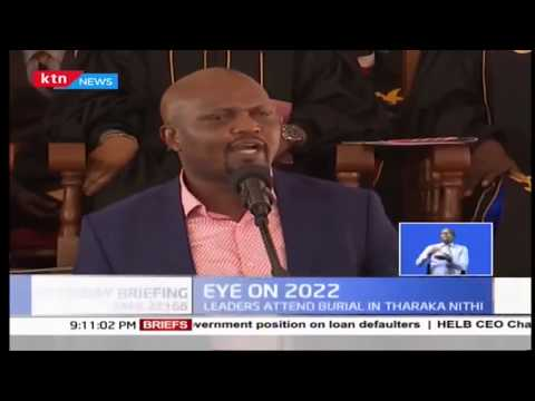 A section of leaders criticise Moses Kuria for interest in 2022 presidential bid