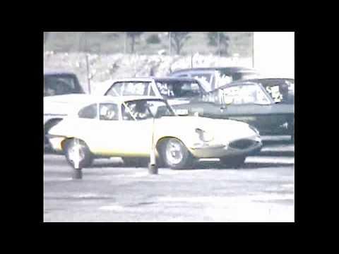 63 JAGUAR XK-E COUPE AT SAN FERNANDO RACEWAY ( DRAG STRIP)