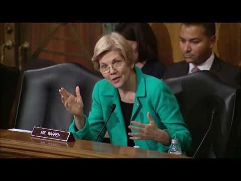 Sen. Elizabeth Warren Banking Committee Hearing on Iran Sanctions