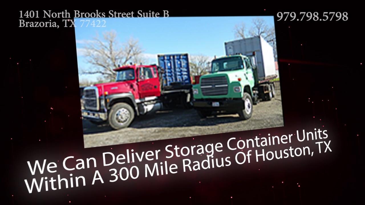 Storage Units in Brazoria TX | A Mobile Box com LLC & Storage Units in Brazoria TX | A Mobile Box com LLC - YouTube