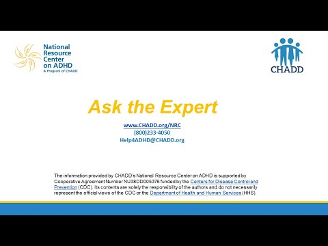 Ask the Expert: Nutrition in Support of ADHD Treatment