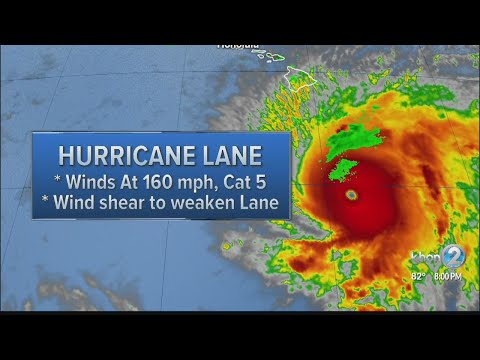 8 p.m. Hurricane Lane update