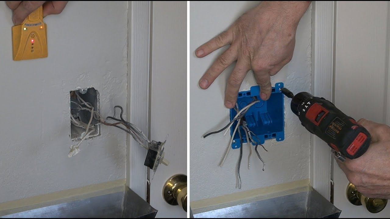 How To Separate Bath Light And Fan Double Box Two Switch Wiring Ceiling With Switches Installation