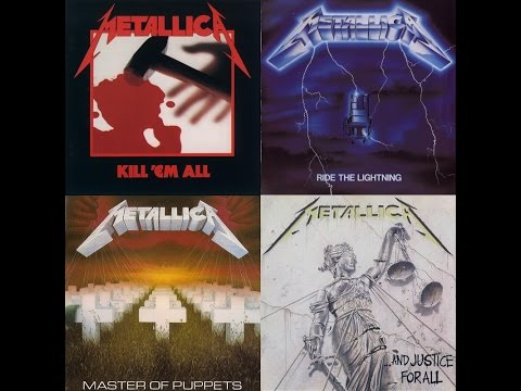 Top 13 Metallica's Fastest Songs (First Four Albums Period)
