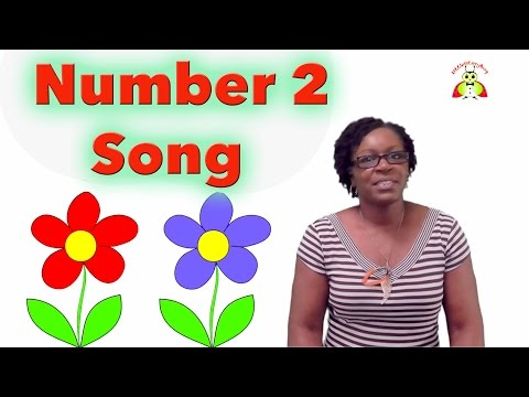 Preschool Learning - Number 2 Song - LittleStoryBug