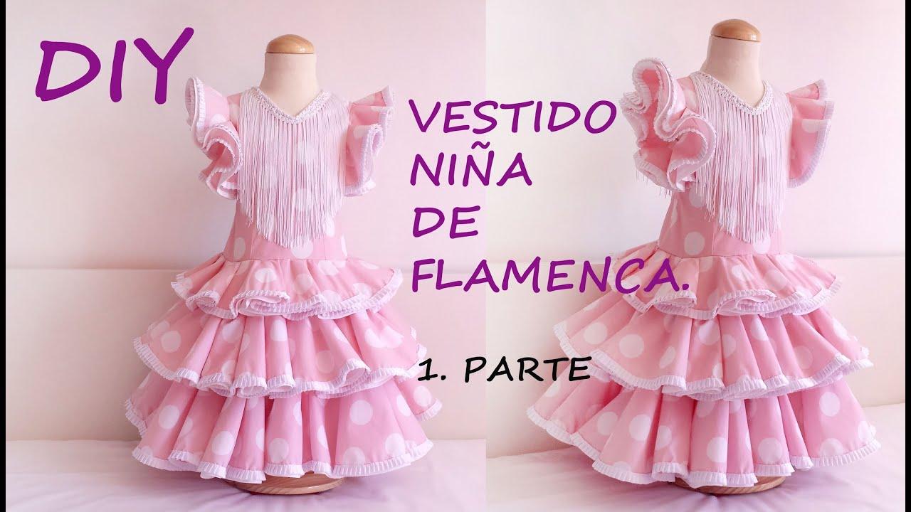 Vestido niña de flamenca: Como hacer un vestido flamenca de niña ...