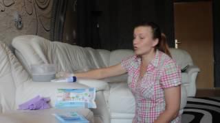 Как почистить кожанный белый диван подручными и не дорогими средствами.(, 2016-08-19T10:34:24.000Z)