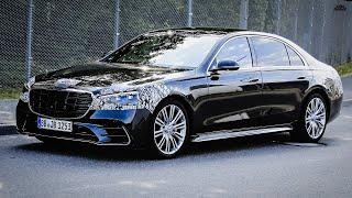 Новый Mercedes S class 580e W223 будет гибридом// Audi будет оснащать автомобили суперкомпьютером