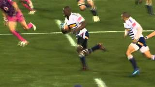 Kolisi assisted Habana's Try : Super Rugby 2012 R.15 Bulls vs Stormers